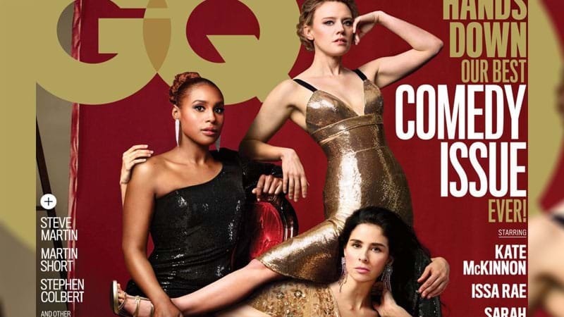 GQ Expertly Trolls Vanity Fair With Their Annual Comedy Issue Cover