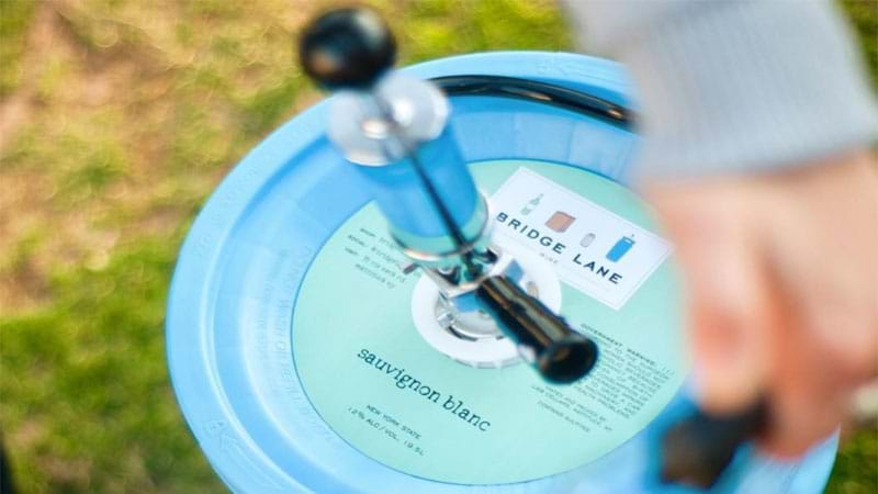 Article heading image for You Can Now Purchase A Wine Keg When One Glass Just Isn't Enough!