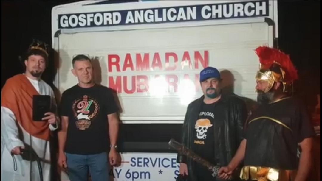 """""""Neo-Nazis"""" Allegedly Intimidate Gosford Church"""