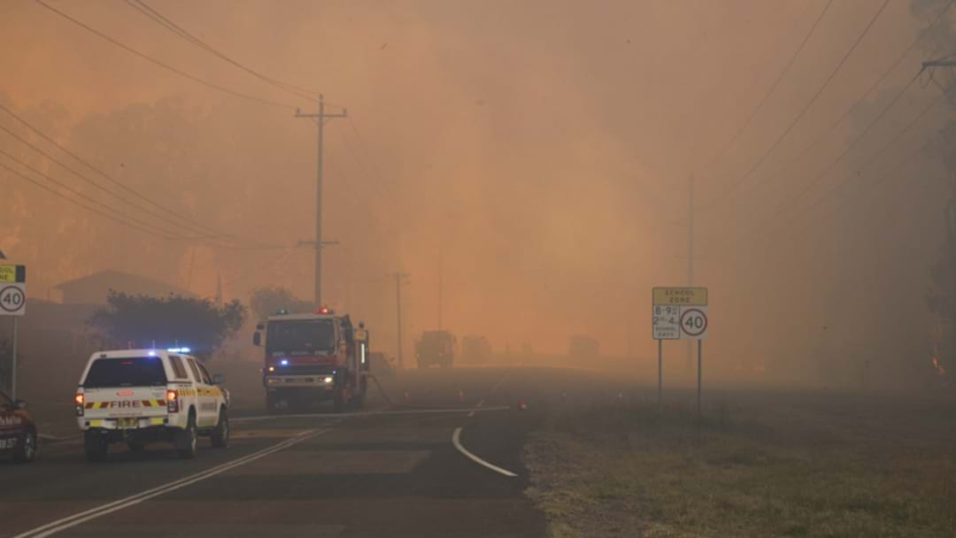 Firebug Blamed For Kurri Kurri Inferno