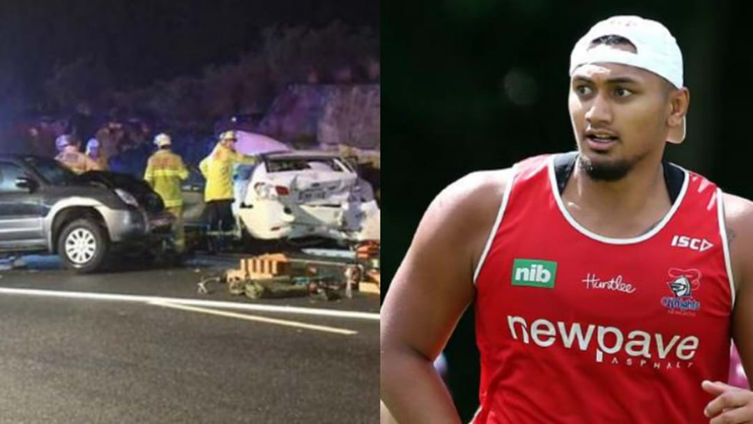 BREAKING: Knights Player Seriously Injured In Crash