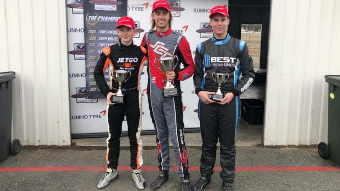 Young Local Driver Finishes Third At Winton!