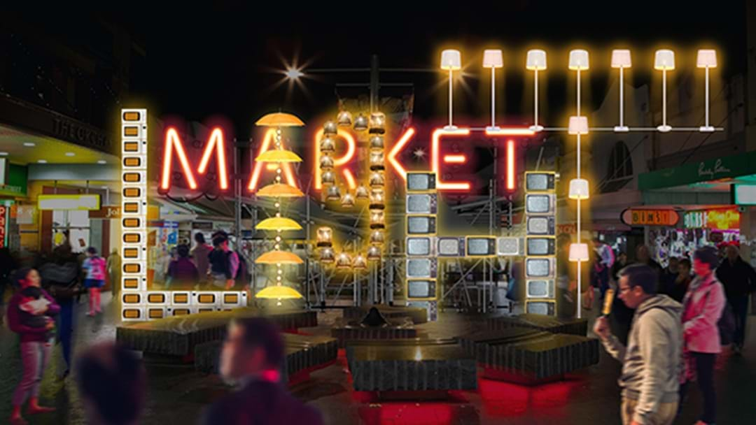 Chatswood Is Getting Its Own Light-Filled Night Market For Vivid