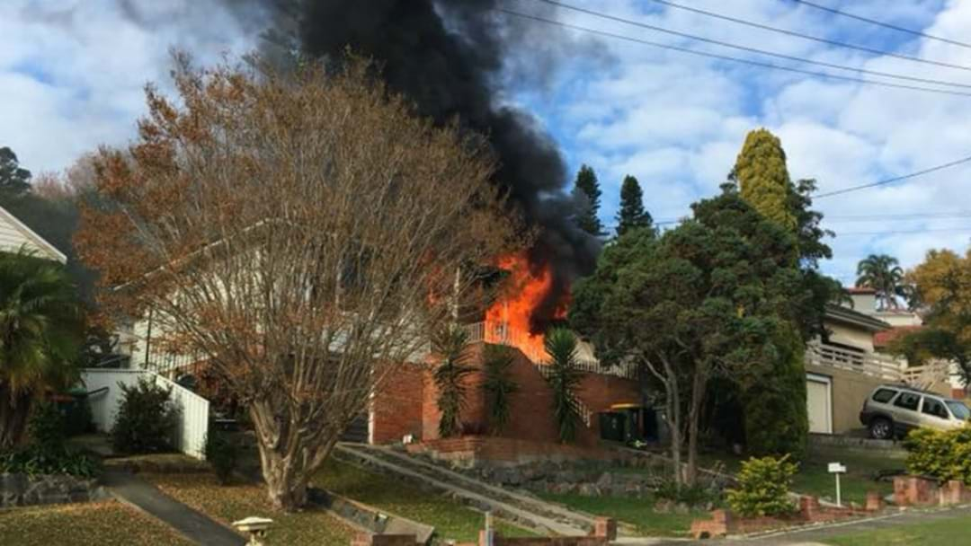 Young Newcastle Family Left With Nothing After Fire