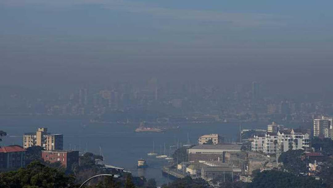 Smoke Blanketing Sydney Labelled 'Hazardous'
