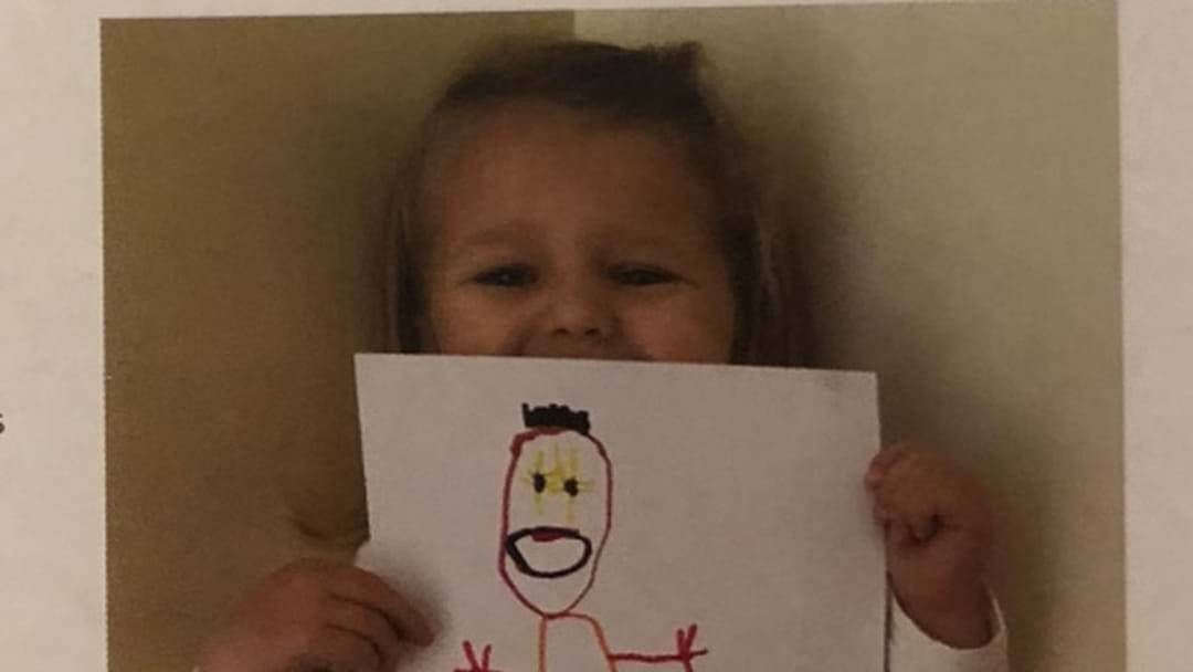 This Little Girl's Imaginary Friend Is Creeping The World Out