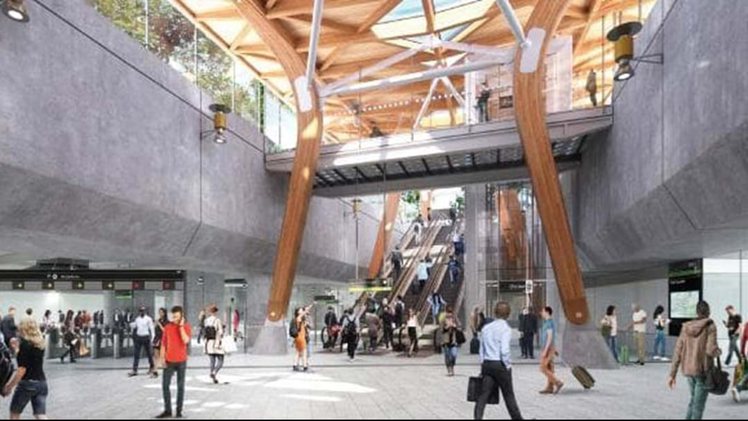 Here's The Designs For Melbourne's New Train Stations