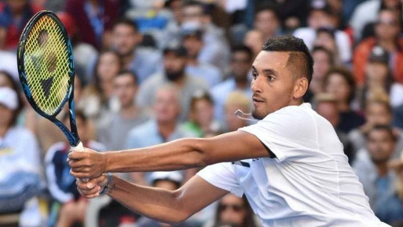 Article heading image for KYRGIOS GETS WAKE UP CALL AT AUSTRALIAN OPEN