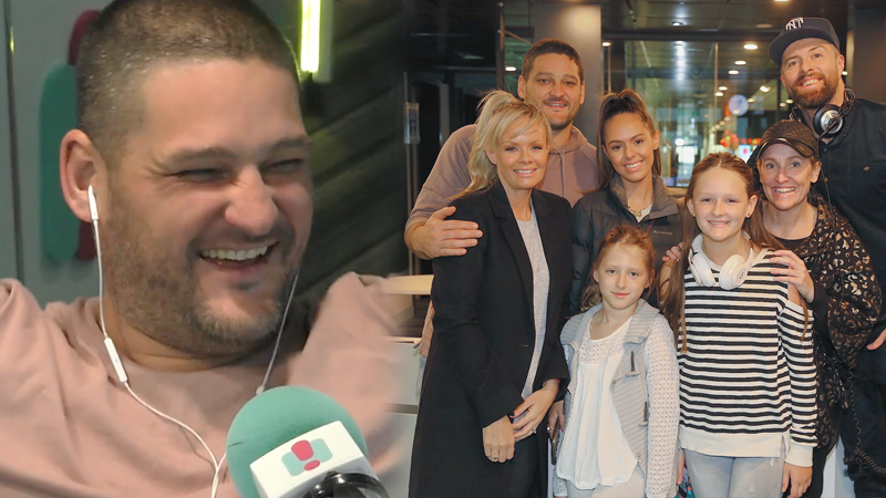 Article heading image for Brendan Fevola Reveals His Baby's Due Date Live On Air