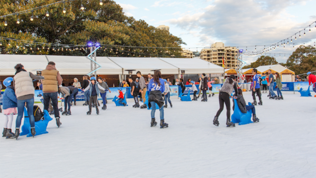 An Ice Skating Rink Is Popping Up Along The Yarra So You Can Live Your Winter Fantasy