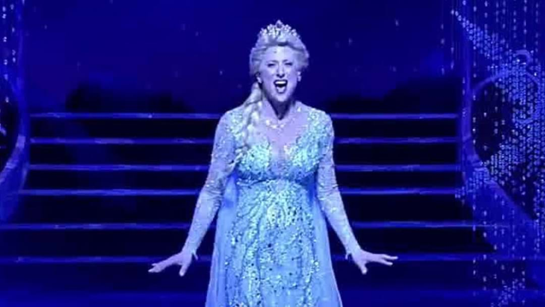 Watch The New Queen Elsa Nail Her Performance Of 'Let It Go' For Frozen On Broadway