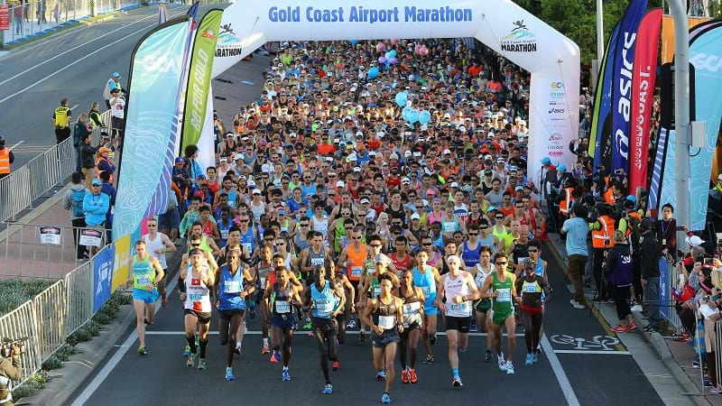 Article heading image for A Record 6,500 Runners Will Lace Up For This Year's Gold Coast Marathon