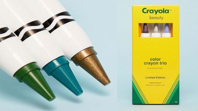 Article heading image for Crayola Has Released A Makeup Line That Makes It Look Like You're Using Crayons On Your Face!
