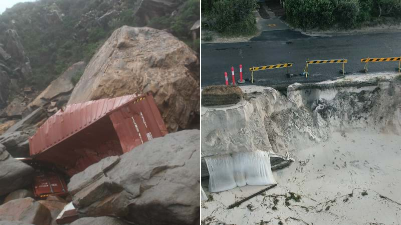 Article heading image for PHOTOS: Hunter's Coastline Hit With Erosion, Rubbish