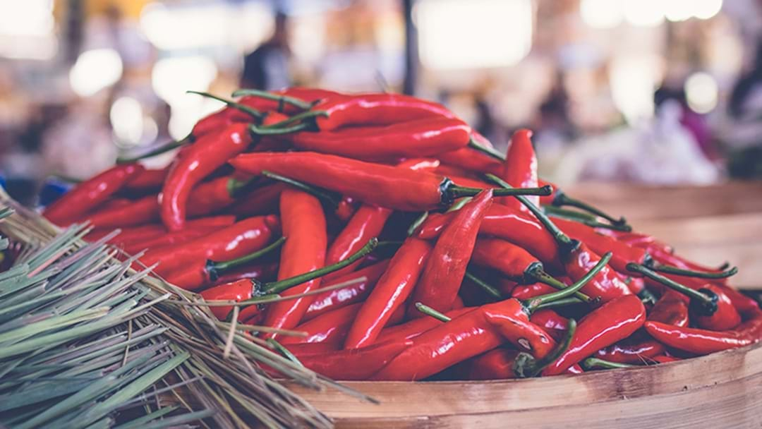 Sydney Is Getting A Chilli Festival This Long Weekend