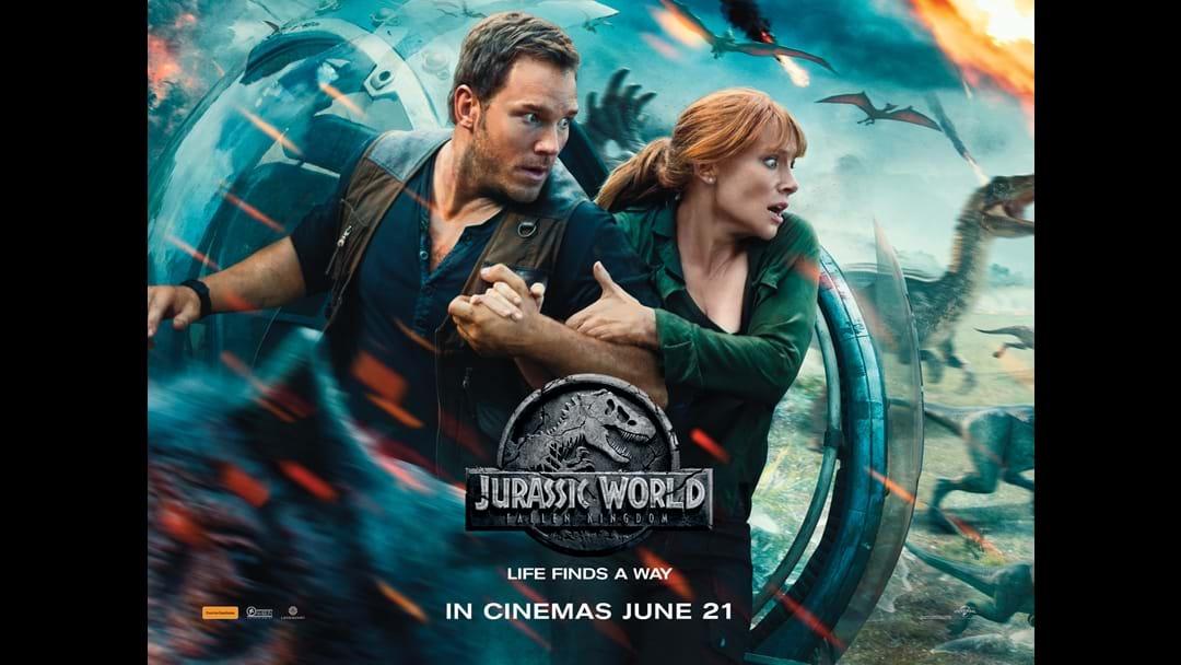 Score tickets to see Jurassic World: Fallen Kingdom