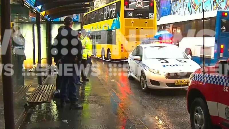 Article heading image for Lunchtime Stabbing At A Bus Stop In The Sydney CBD