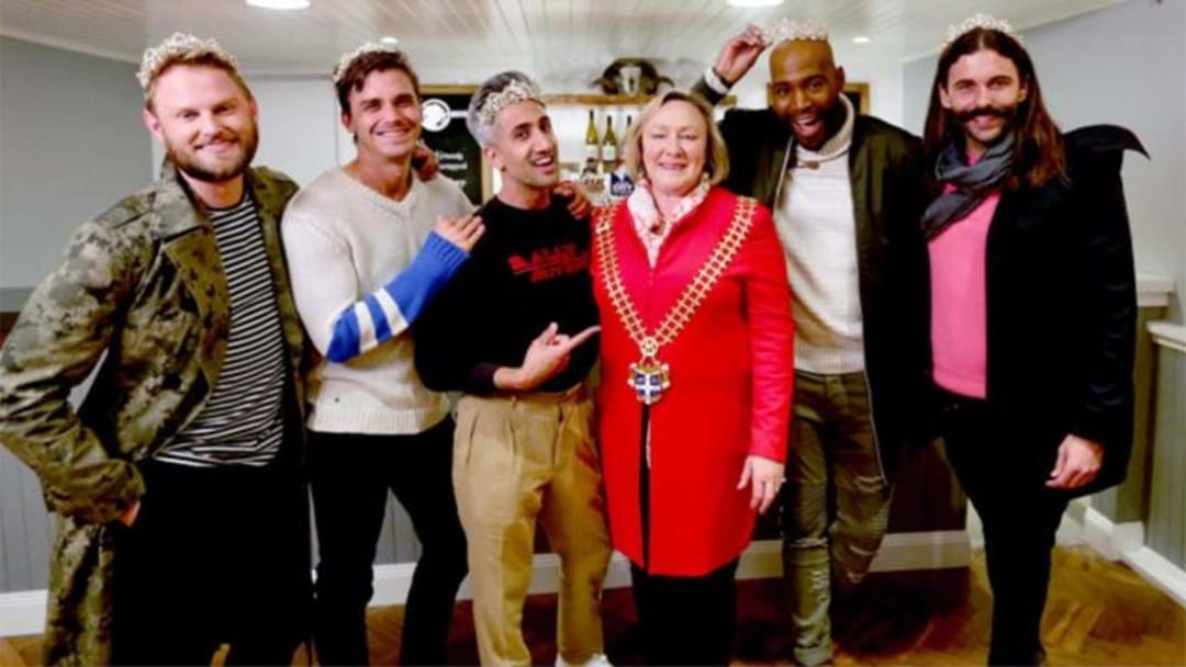 The 'Queer Eye' Guys Have Been Crowned As Official Yass Queens By The Town's Mayor!