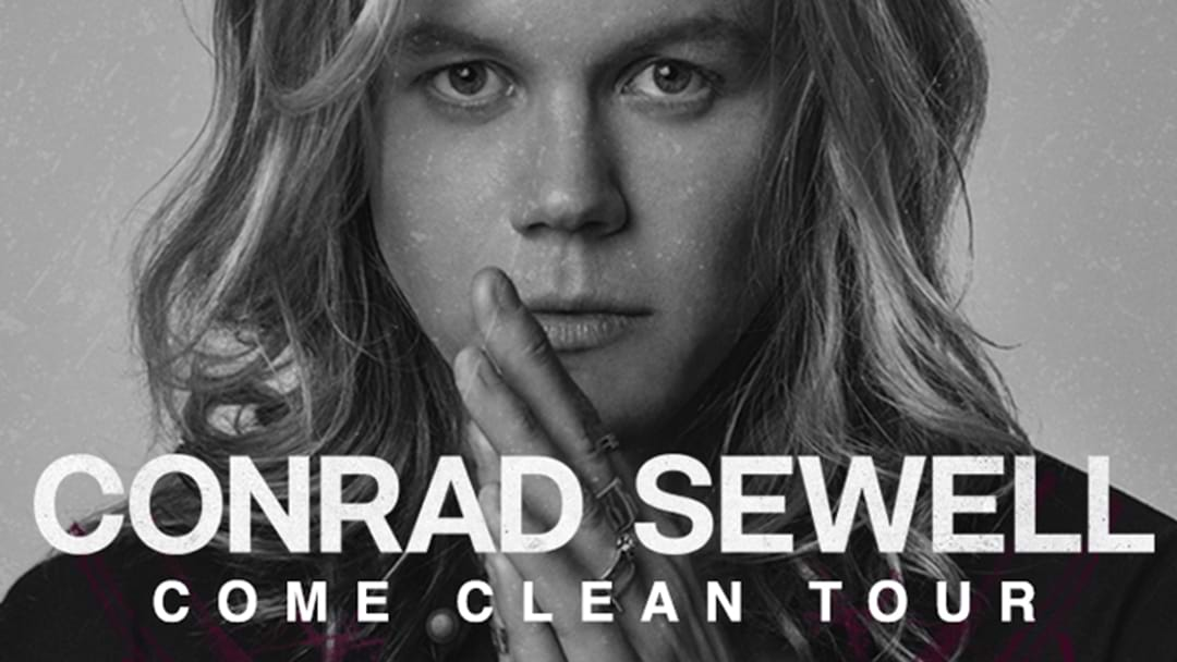 Conrad Sewell Comes Clean As He Hits The Road