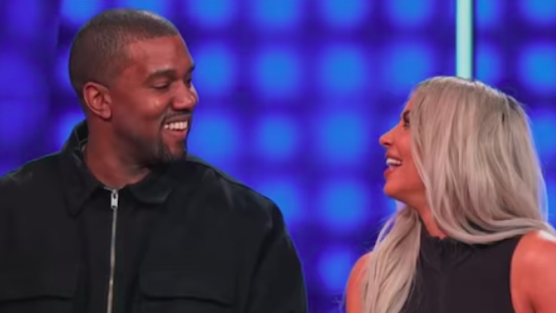 Article heading image for Kanye & Kim Went On 'Family Feud' & Were SO Extra We Can't Handle It