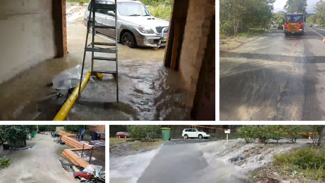 Empire Bay Family Frustrated With Help After Council Water Main Burst
