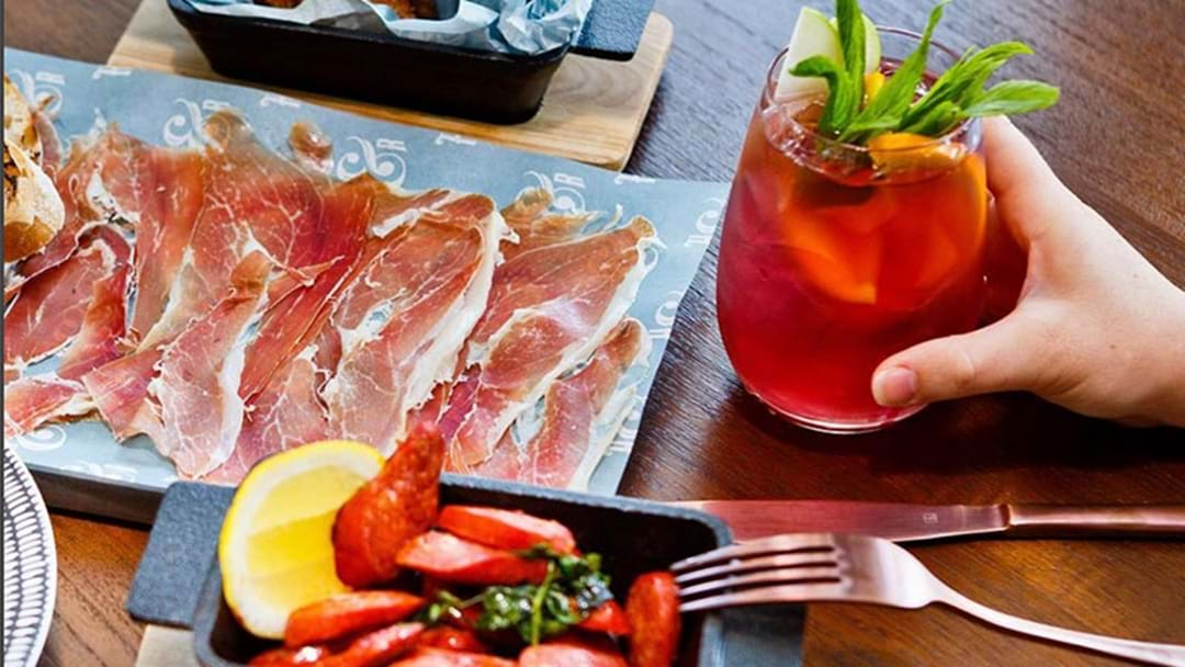 A Perth Restaurant Is Dishing Out Free Tapas When You Order Sangria!