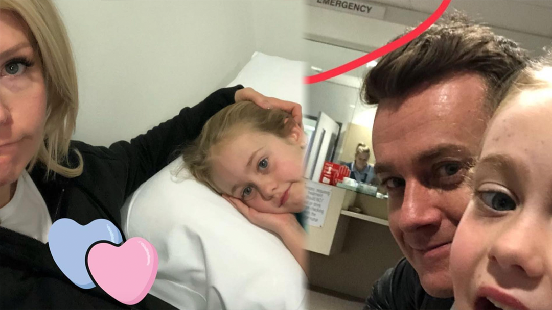 Grant Denyer's Daughter Rushed To Hospital Early This Morning