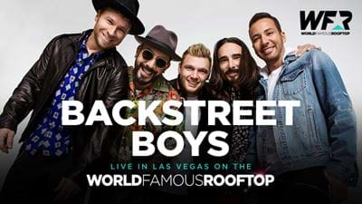 The Backstreet Boys To Hit The World Famous Rooftop
