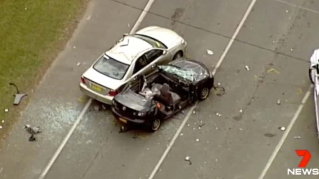 Four Vehicles Involved In Major Crash In Caboolture