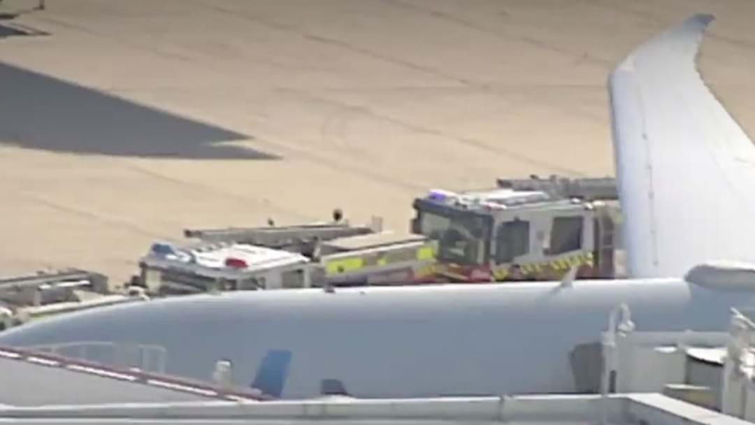 HAZMAT Crews At Sydney Airport After Substance Found