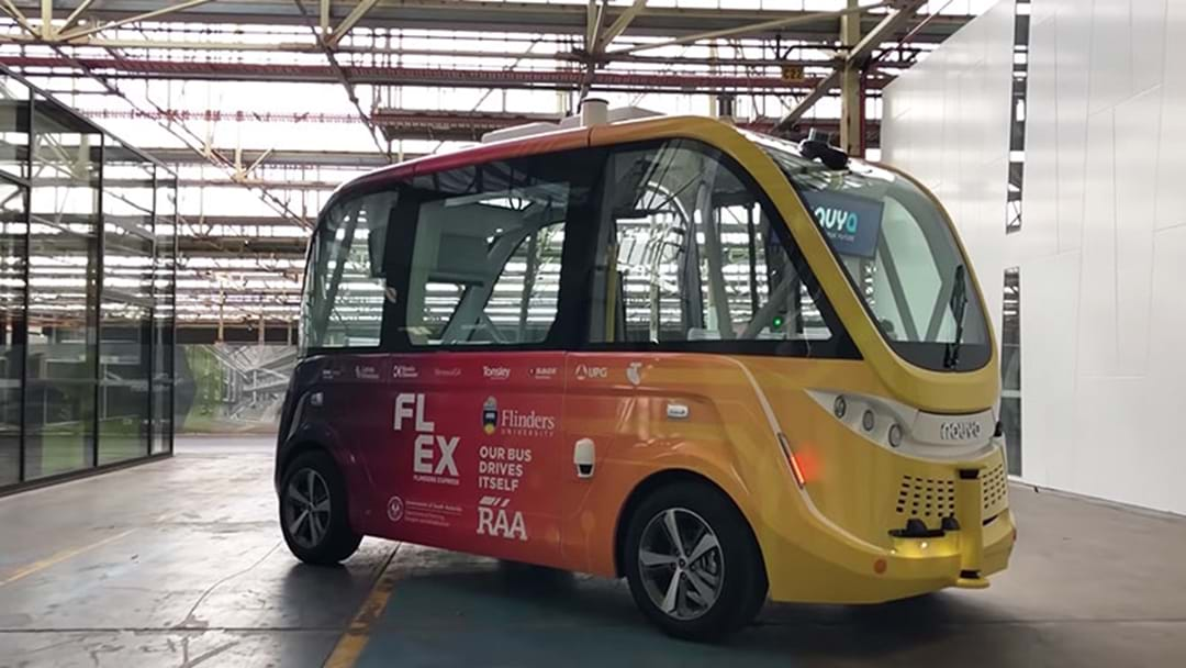 The First Driverless Bus Has Hits Adelaide Public Roads Today!