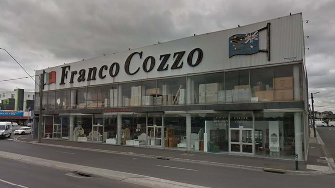Franco Cozzo Has Sold His Iconic Footscray Store For $6 Million
