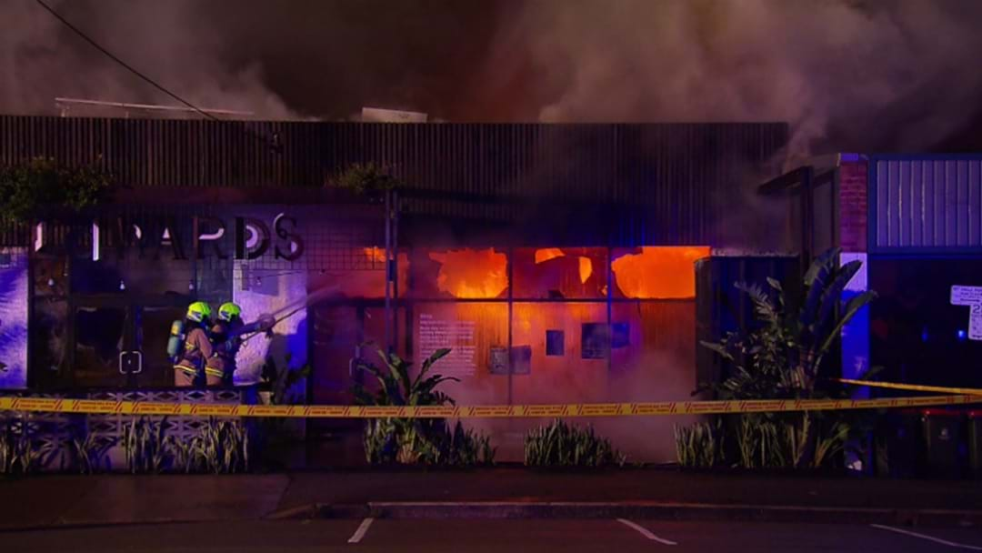 VIDEO: The Edwards Destroyed By Fire