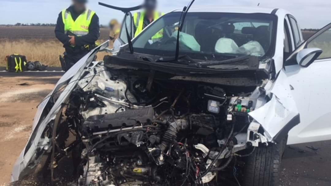 Woman Seriously Injured in Car Crash