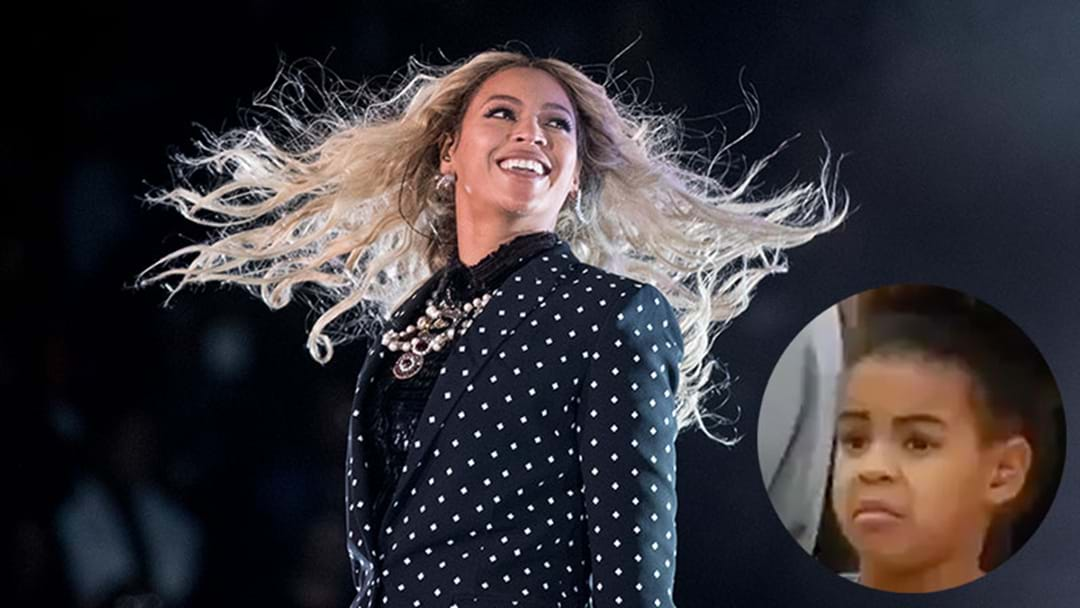Blue Ivy Cringing As She Watches Beyoncé & Jay Z Perform Onstage Is A Good Confident Booster
