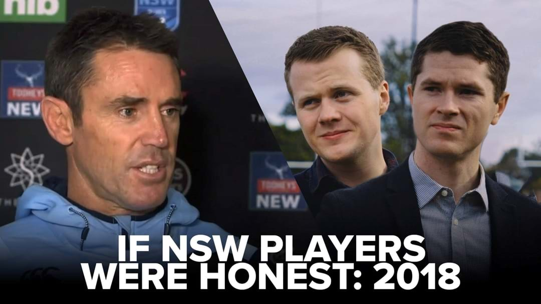 The NSW Origin Team Give Most Honest Interview Yet!