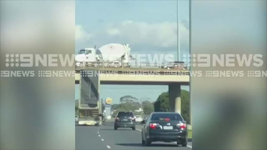 Tipper Truck Causes Princes Freeway Chaos