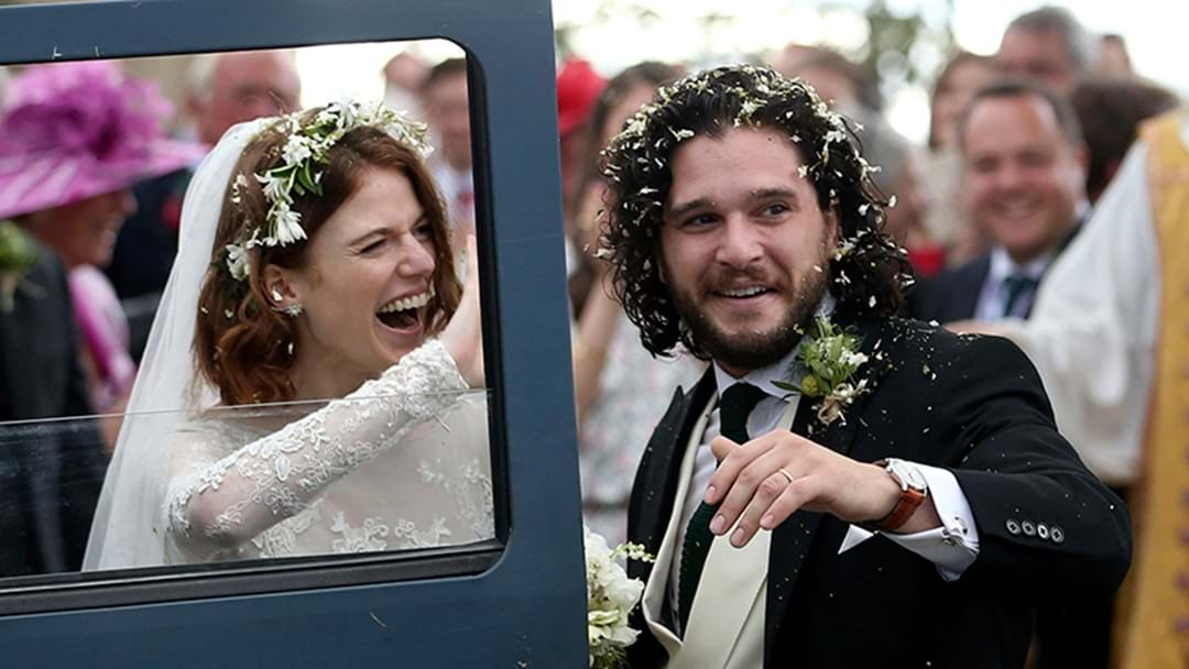 Kit Harington & Rose Leslie Got Married & The Pics Are MAGICAL