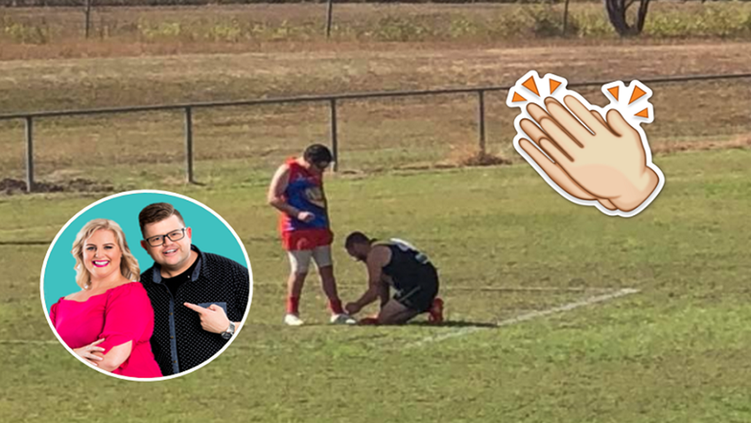 Cliffo & Gabi Spoke With AFL Viral Sensation Scott O'Donnell