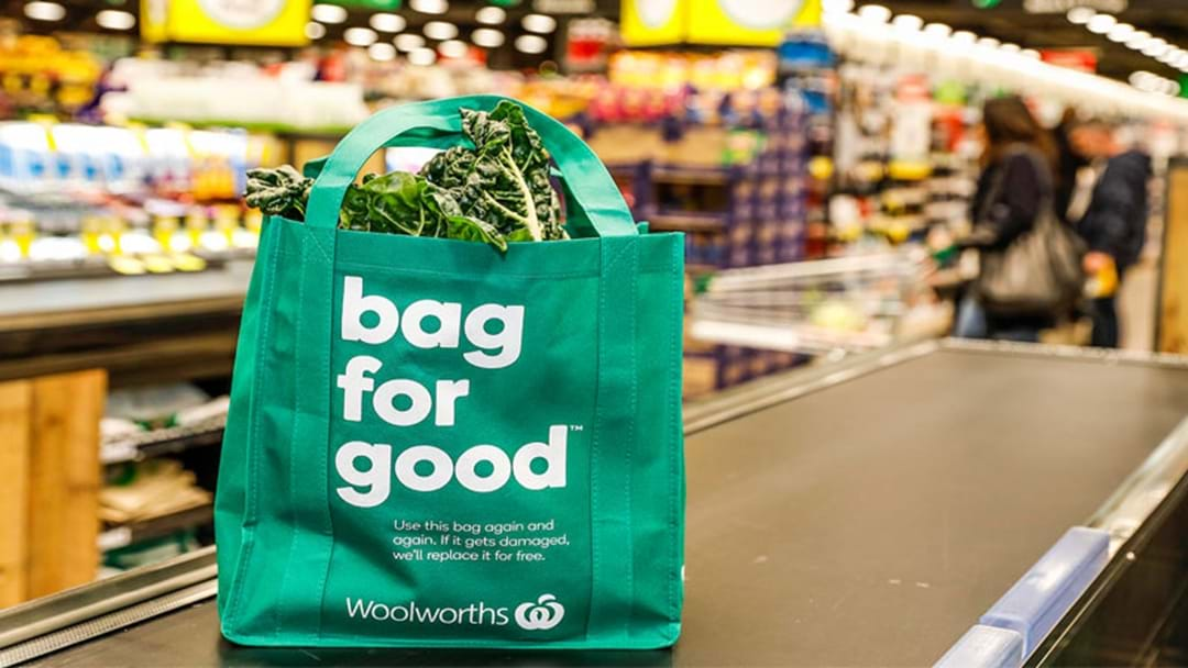The New System Coming To Woolies That Could Cut EVEN MORE Plastic Bags Out