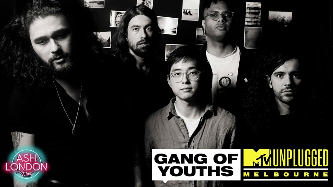 Win tickets to MTV Unplugged with Gang of Youths