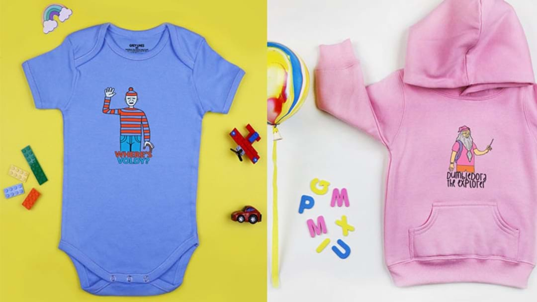 Pass Down The Harry Potter Gene With These 'Where's Voldy?' Baby Onesies