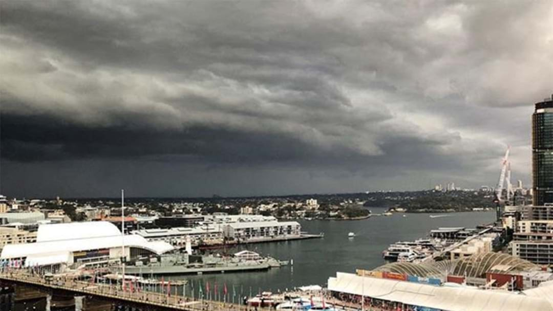 Sydney Could Be In For A Big Storm This Evening