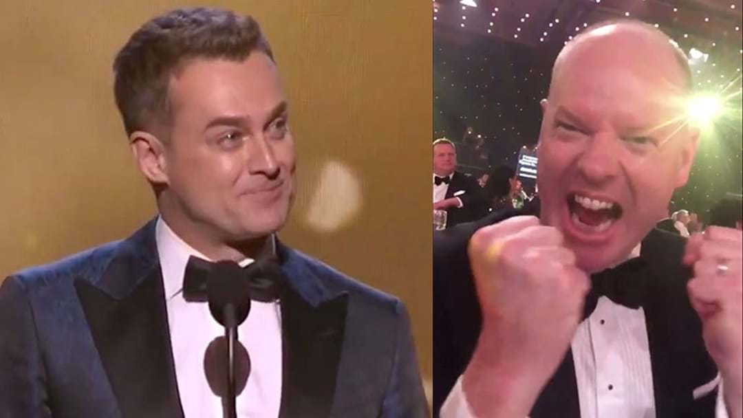 Tom Gleeson Reacted To Grant Denyer Winning The Gold Logie Like A Proud Parent