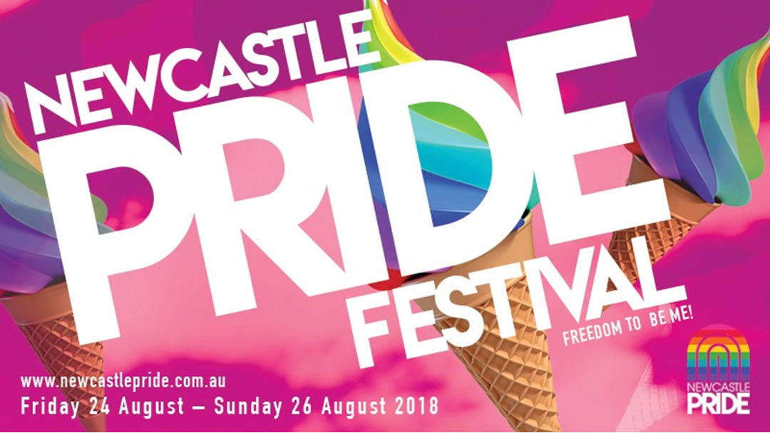 Hit106.9 partners with Newcastle Pride 2018