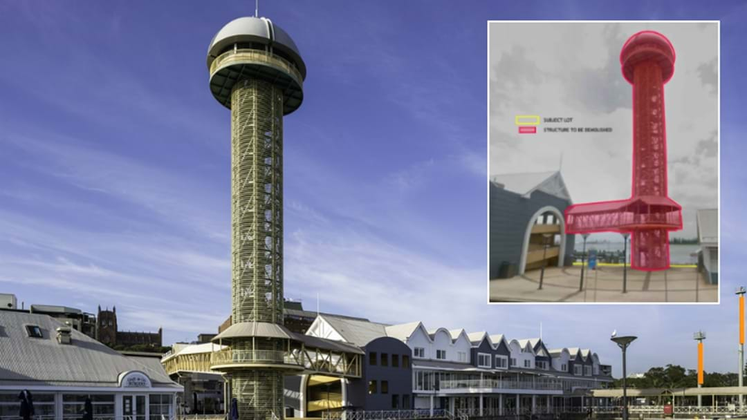 Iconic Tower On Track For Demolition