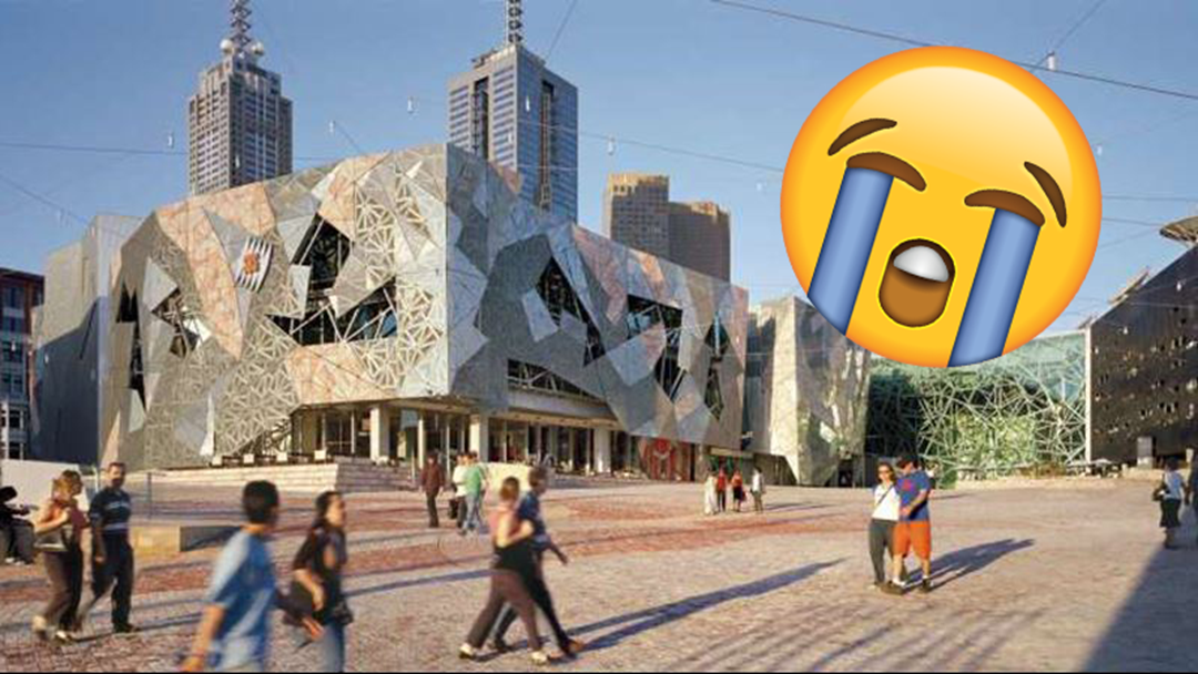 7,000 People Are Planning To Publicly Cry In Federation Square & We're Not Sure Why