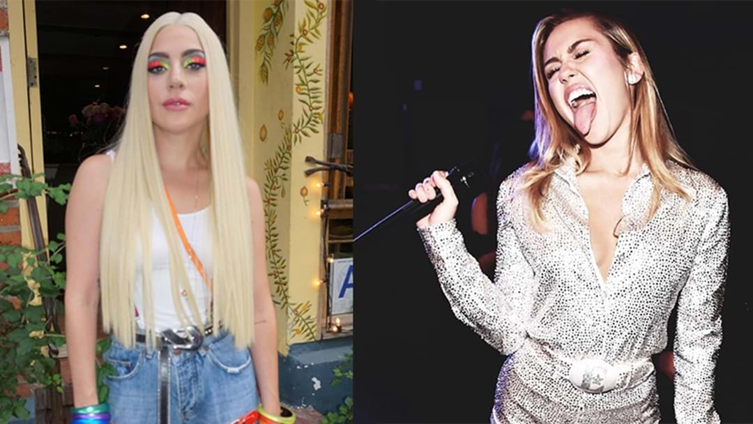 There's A Rumour Lady Gaga And Miley Cyrus Are About To Drop A DUET!