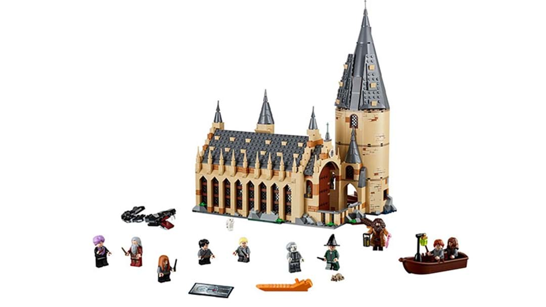 Muggles! You Can Now Build Your Own Lego Hogwarts Castle
