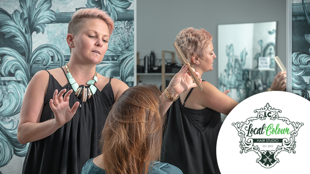 Win a $250 Hair Makeover Package from Local Colour Hair Subiaco!